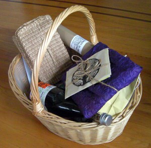 Haiku winner gift basket